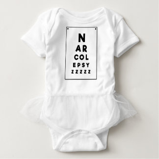Narcolepsy ZZZZ Baby Bodysuit
