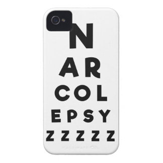 Narcolepsy ZZZZ iPhone 4 Cover