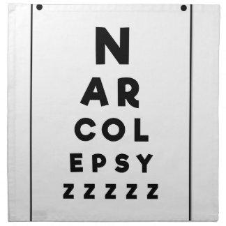 Narcolepsy ZZZZ Napkin