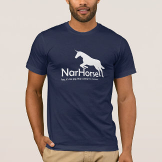 NarHorse (white) T-Shirt