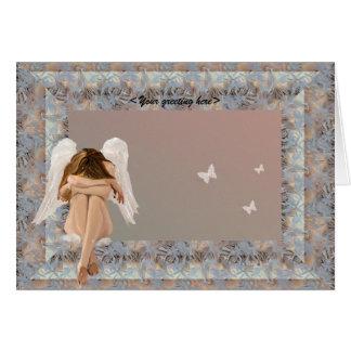 Narnia Angel frame Greeting Card