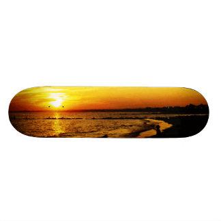 Narragansett Sunset Skateboard