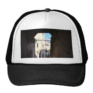 Narrow Streets Of Ancient Scalea Trucker Hat
