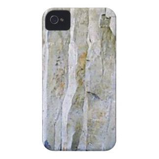 Narrow white rock column iPhone 4 cover