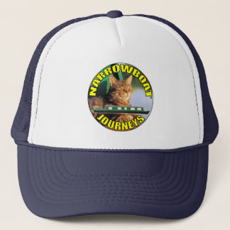 Narrowboat Journeys Hat. Trucker Hat