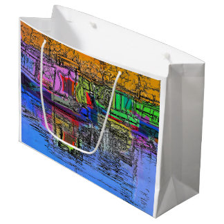 NARROWBOATS LARGE GIFT BAG
