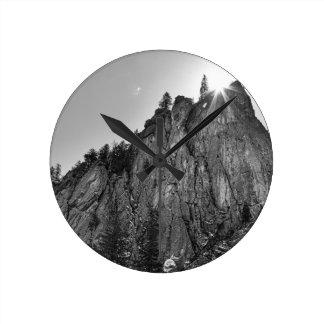 Narrows Pinnacle Boulder Canyon Round Clock