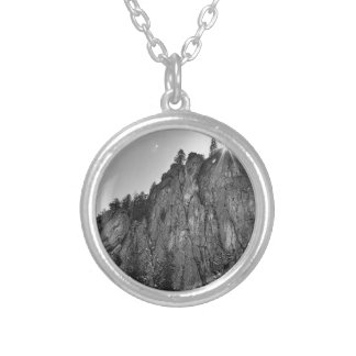 Narrows Pinnacle Boulder Canyon Silver Plated Necklace