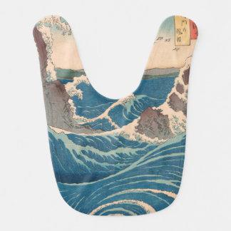 naruto whirlpool by Japanese artist Hiroshige Bib