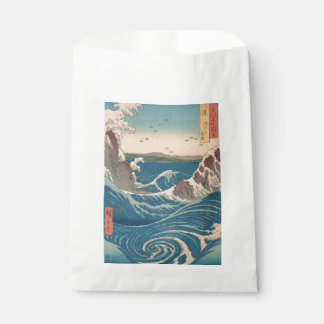 naruto whirlpool by Japanese artist Hiroshige Favour Bag