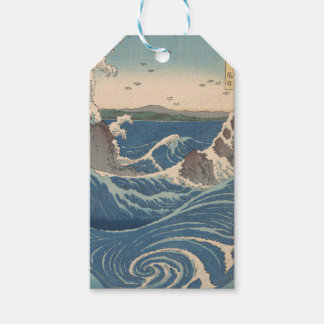 naruto whirlpool by Japanese artist Hiroshige Gift Tags