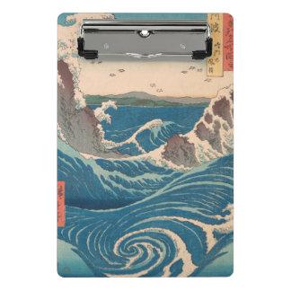 naruto whirlpool by Japanese artist Hiroshige Mini Clipboard