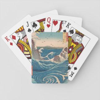naruto whirlpool by Japanese artist Hiroshige Poker Deck
