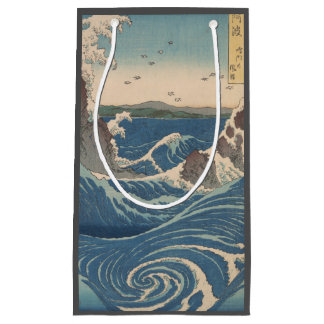 naruto whirlpool by Japanese artist Hiroshige Small Gift Bag