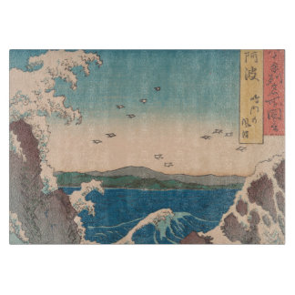 Naruto Whirlpool Japanese  Hiroshige art Cutting Board