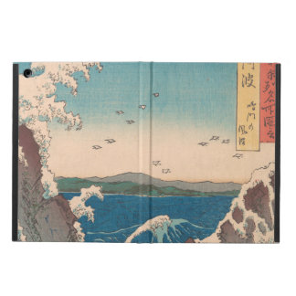 Naruto Whirlpool Japanese  Hiroshige art iPad Air Case