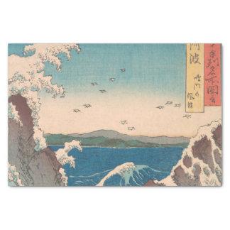 Naruto Whirlpool Japanese  Hiroshige art Tissue Paper