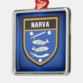 Narva Flag Metal Ornament