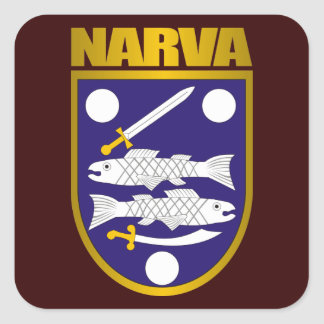 """Narva Gold"" Stickers"