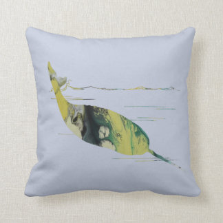 Narwhal Art Cushion