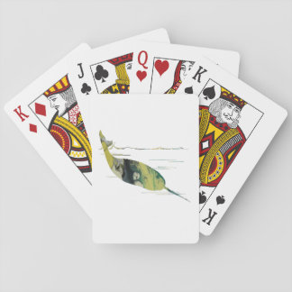 Narwhal Art Playing Cards