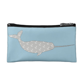 Narwhal Cosmetics Bags