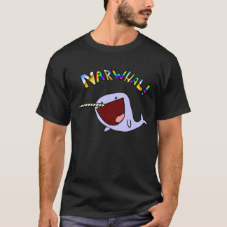 Narwhal! black shirt
