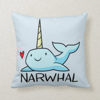 Narwhal Cushion