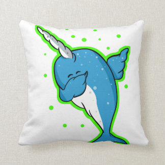 Narwhal Dabbing Dab Cushion