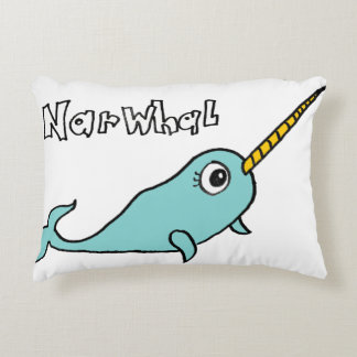 NARWHAL DECORATIVE CUSHION
