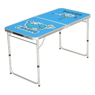 Narwhal I Believe Beer Pong Table