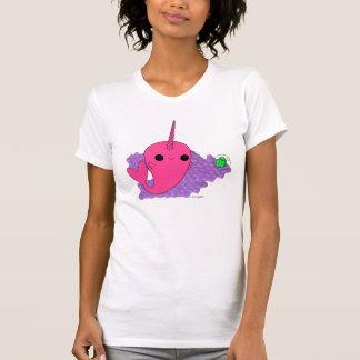 Narwhal (Purple Bubbles) Tshirt