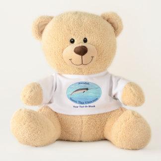 Narwhal - Save The Unicorn Teddy Bear