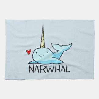 Narwhal Tea Towel