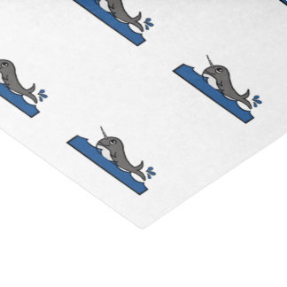 Narwhal Tissue Paper