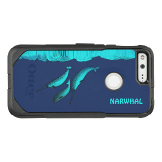 Narwhal Under The Ice OtterBox Commuter Google Pixel Case