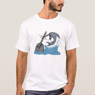 Narwhal VS Swordfish T-Shirt