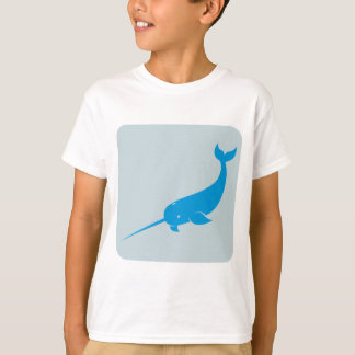 Narwhal Whale Icon T-Shirt