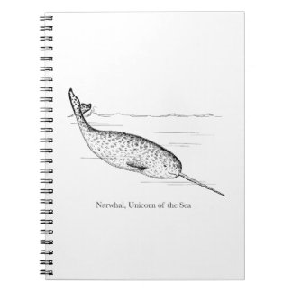 Narwhal Whale Unicorn of the Sea Notebook