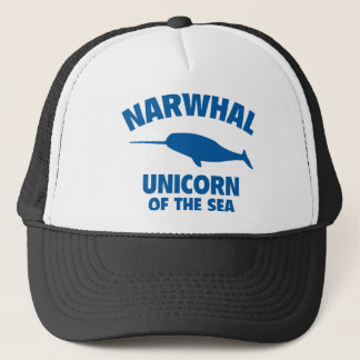 Narwhale Unicorn Of The Sea Trucker Hat