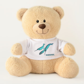 Narwhals Teddy Bear