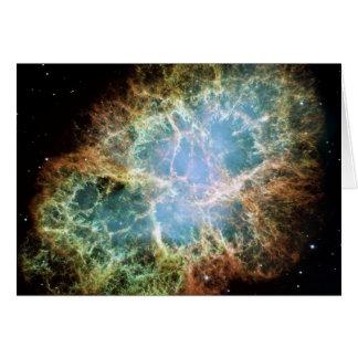 NASA - A Giant Hubble Mosaic of the Crab Nebula Card