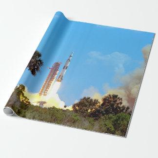 NASA Apollo 16 Saturn V Rocket Launch