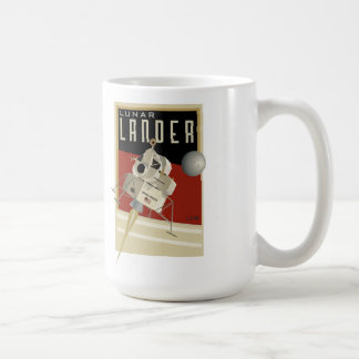 NASA Apollo lunar lander LEM Coffee Mug