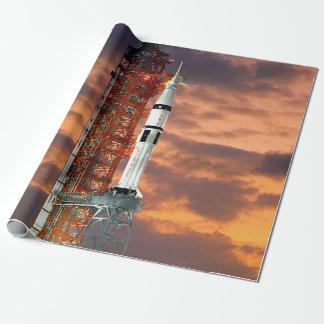 NASA Apollo Soyuz Launch Vehicle Sunrise Launchpad