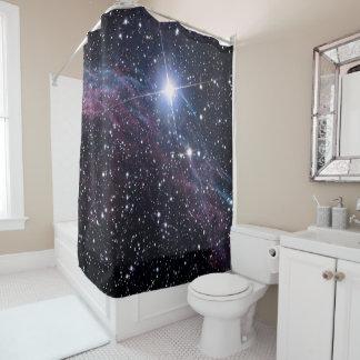 NASA ESA Veil nebula Shower Curtain