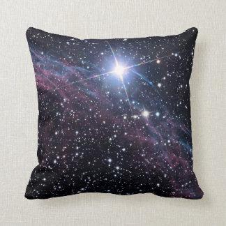 NASA ESA Veil nebula Throw Pillow