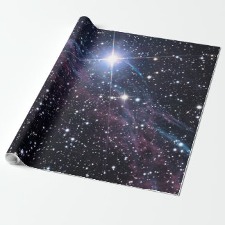 NASA ESA Veil nebula Wrapping Paper