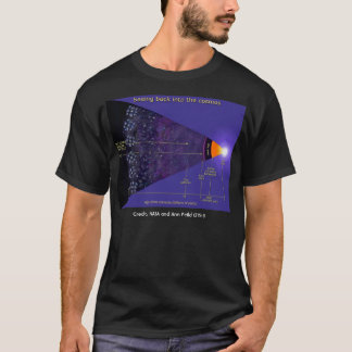 NASA first galaxies illustration,  T-Shirt