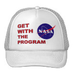 NASA Get With The Program Hats